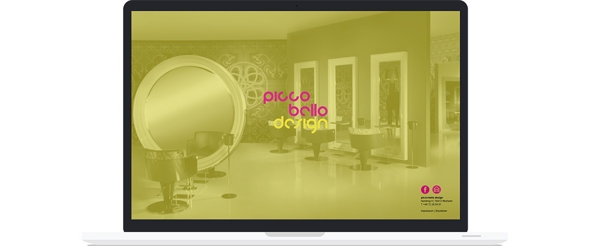 picco-bello design - Umsetzung Screendesign